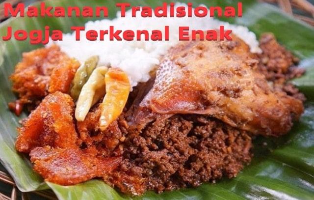 Makanan Tradisional Jogja Terkenal Enak
